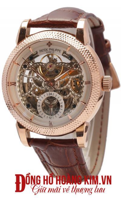 đồng hồ nam quai da giá rẻ