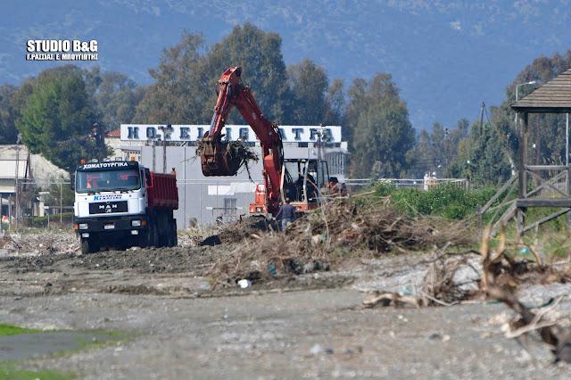Εκτεταμένοι καθαρισμοί  παραλιών και εκβολών ποταμών από τον Δήμο Άργους Μυκηνών