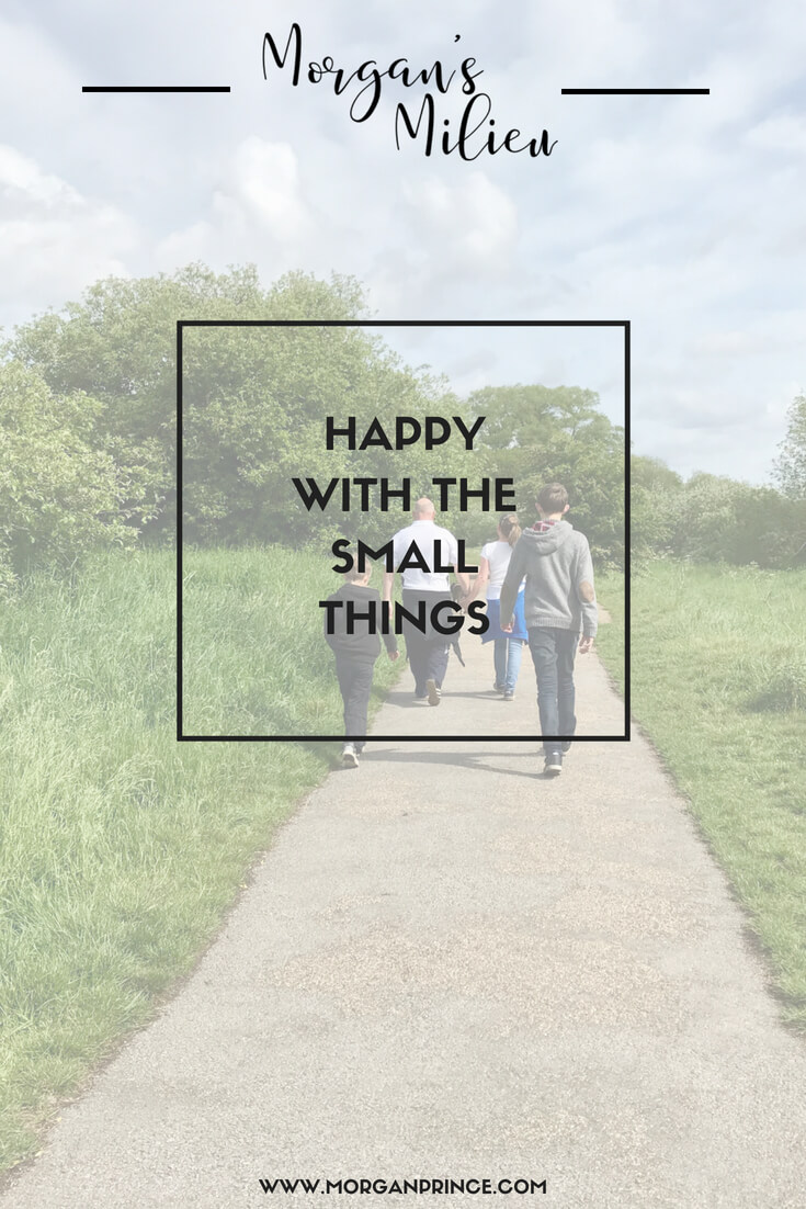 Happy with the small things - it doesn't take new tech or jewellery to make me happy. What makes you happy?