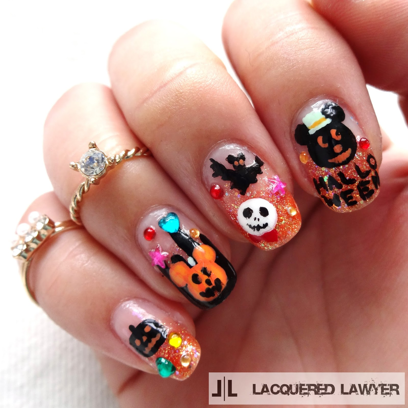 Lacquered Lawyer | Nail Art Blog: Disney Halloween