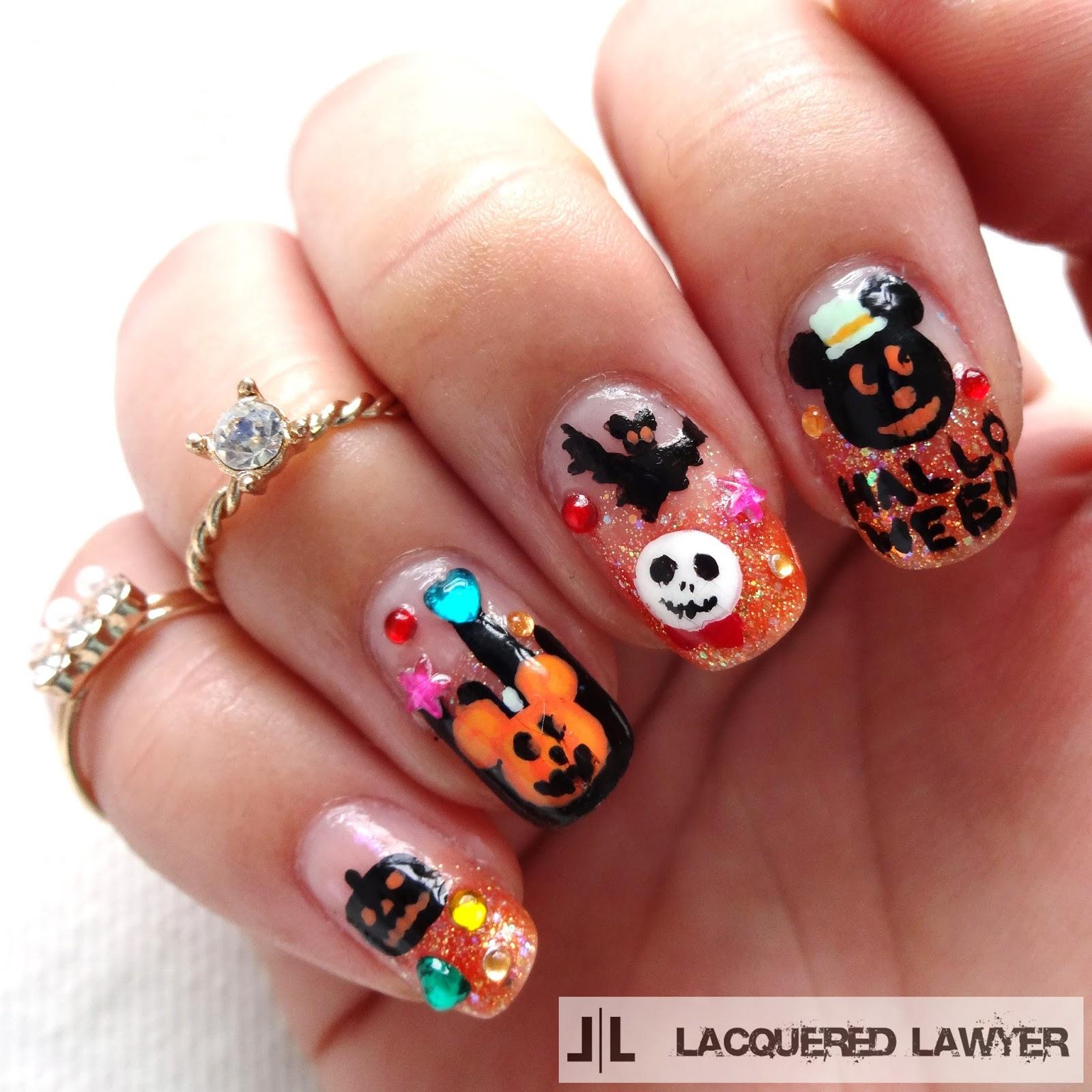 Lacquered Lawyer | Nail Art Blog: Disney Halloween