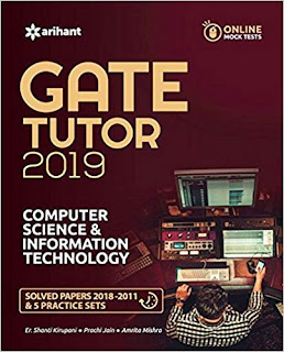 Download Free Arihant Computer Science and Information Technology Engineering GATE 2019 book PDF