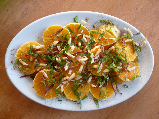 Salade d'Orange Marocaine