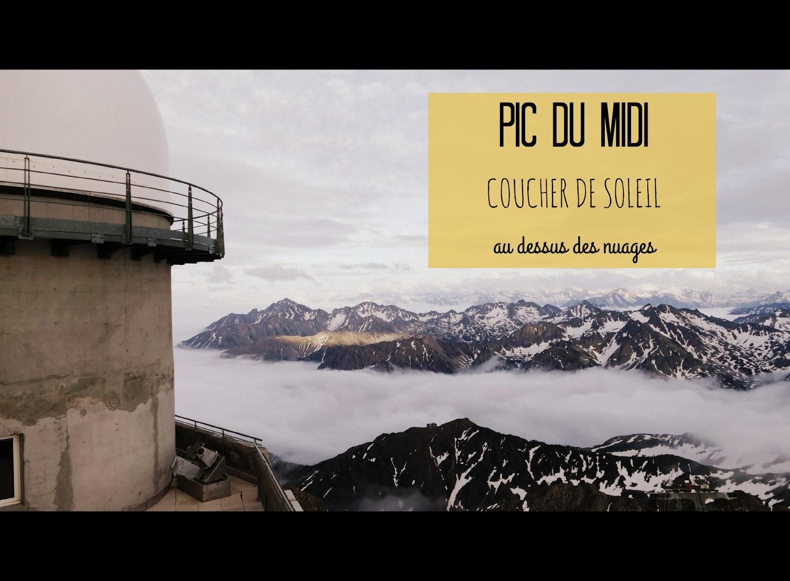 Pic du Midi au dessus des nuages