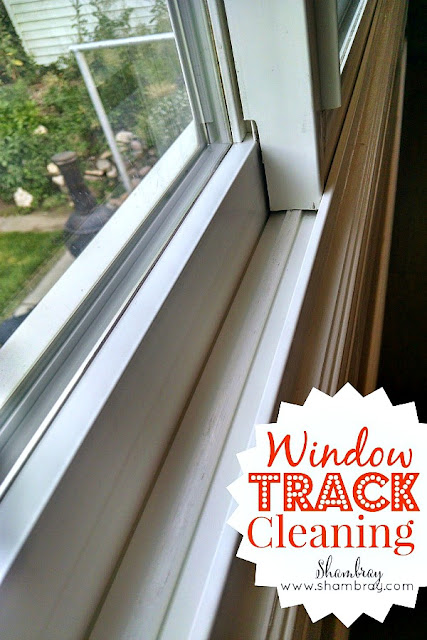 Check out these hacks for window track cleaning.