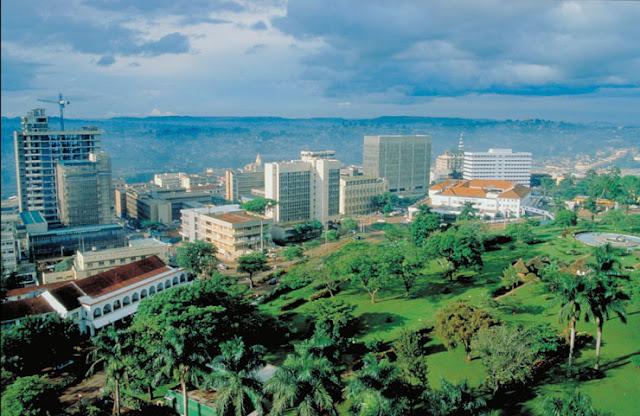 Campala, a Capital de Uganda