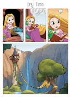 Disney Princess Comics Collection Target Exclusive Products Tangled Rapunzel Comic 001