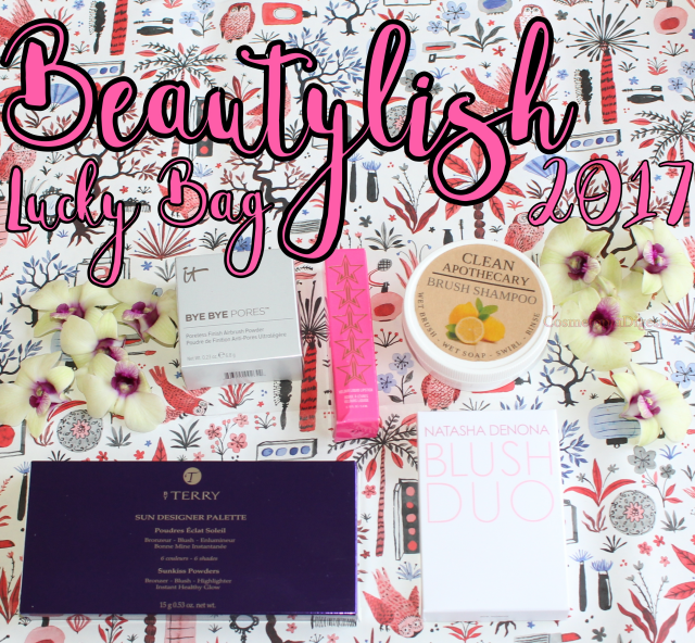 Beautylish Lucky Bag 2017 unboxing, review and contents.