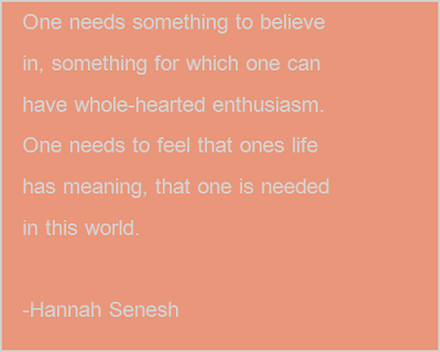 Enthusiasm For Life Meaning