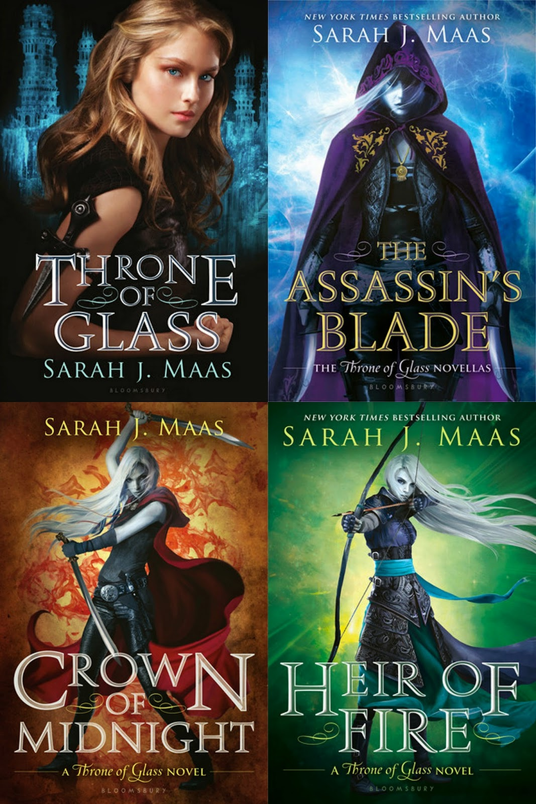 Throne Of Glass Serie