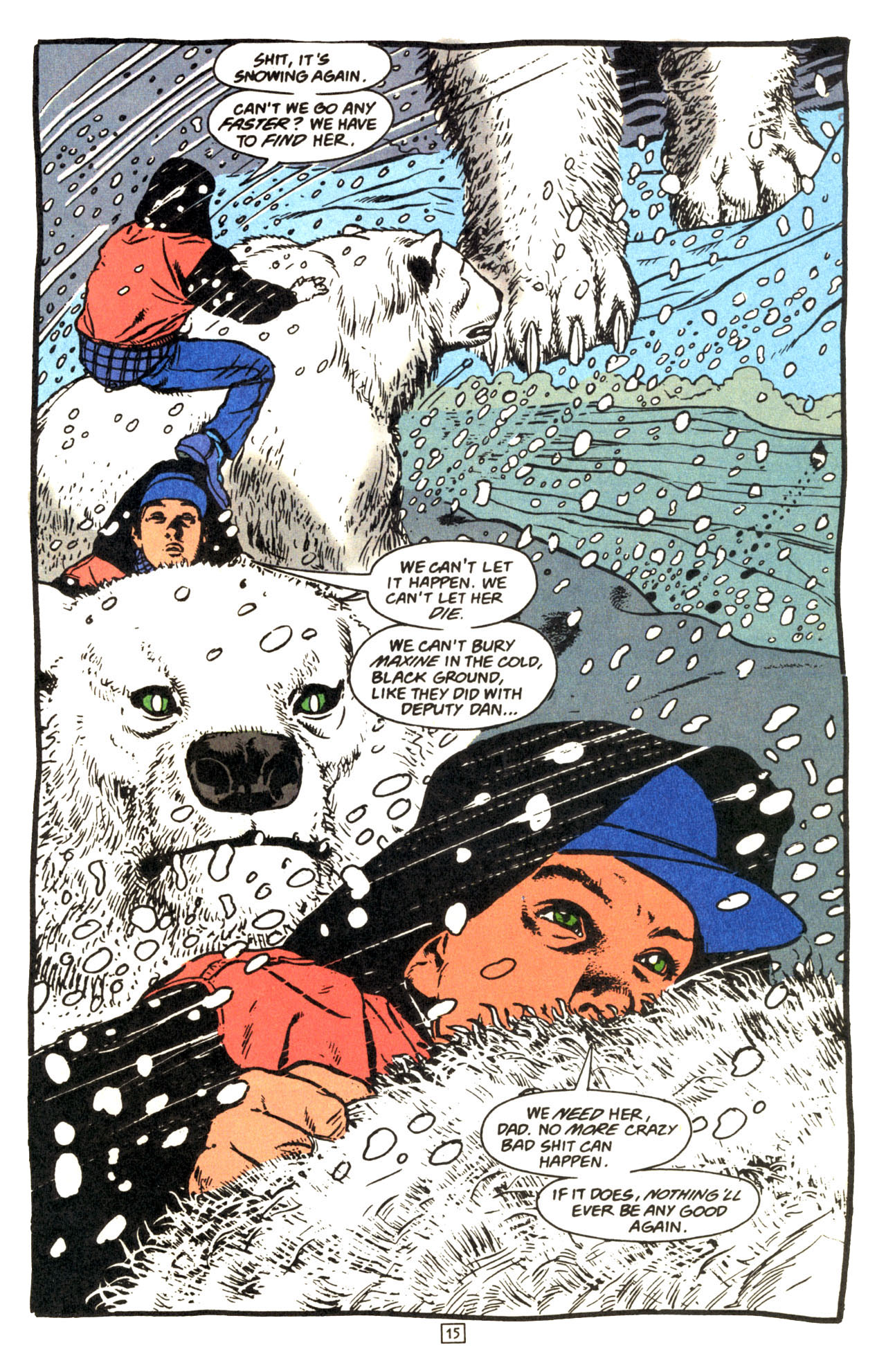 Read online Animal Man (1988) comic -  Issue #69 - 16