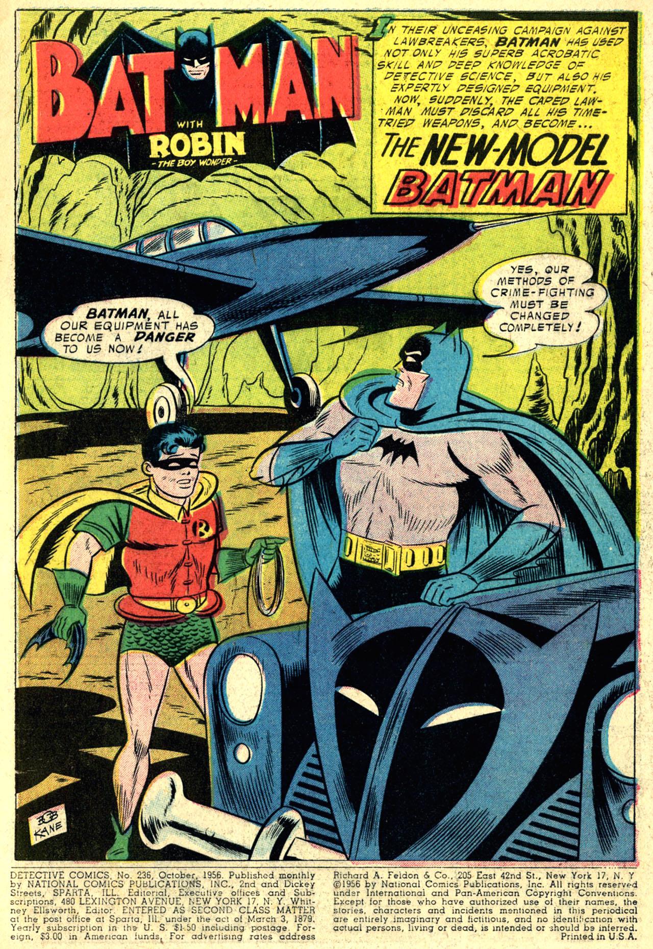 Read online Detective Comics (1937) comic -  Issue #236 - 3