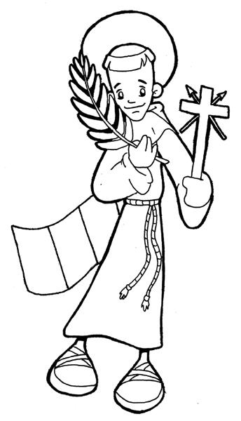 ReliArtes: San Felipe de Jesús (Dibujo)