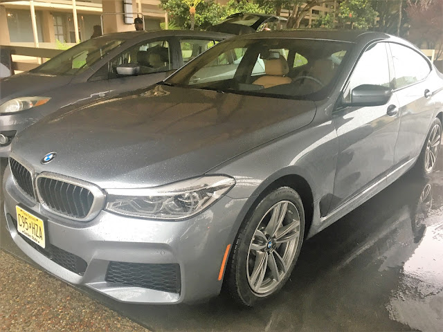 Front 3/4 view of 2018 BMW 640i xDrive Gran Turismo
