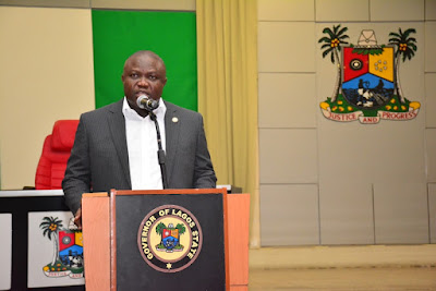 Governor Ambode Addresses Another Press Conference
