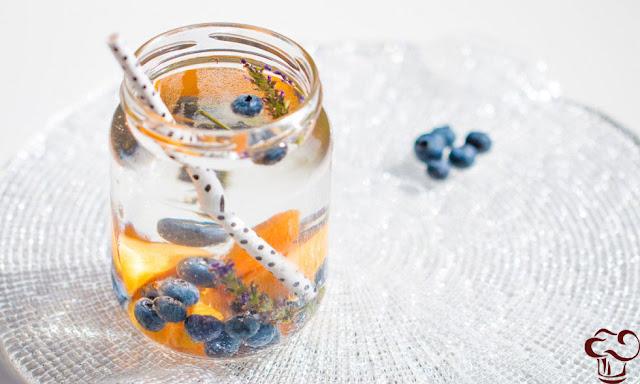 Receta Agua aromatizada de albaricoque