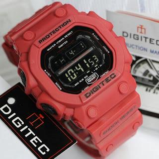 Harga jam Tangan Digitec digital Original Segi