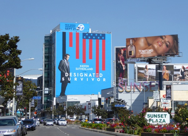 Giant Designated Survivor season 1 billboard