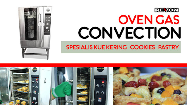 Harga Oven Gas Convection (Oven khusus Kue kering/ Cookies/ Pastry)