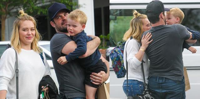 Sorprenden a Hilary Duff besándose con su ex marido (FOTOS)