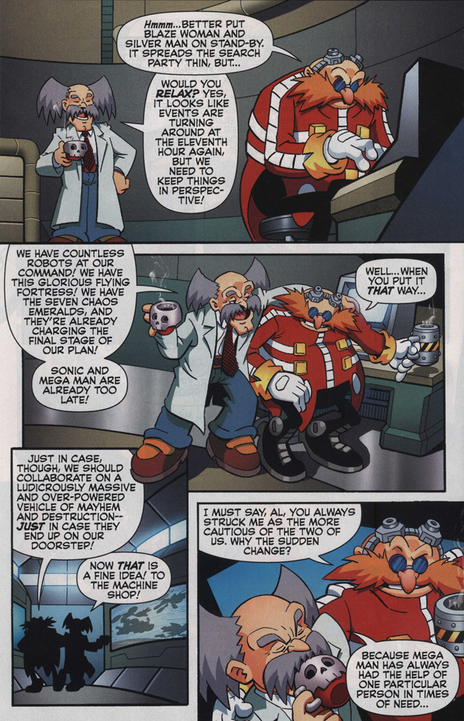 Read online Sonic The Hedgehog comic -  Issue #249 - 30