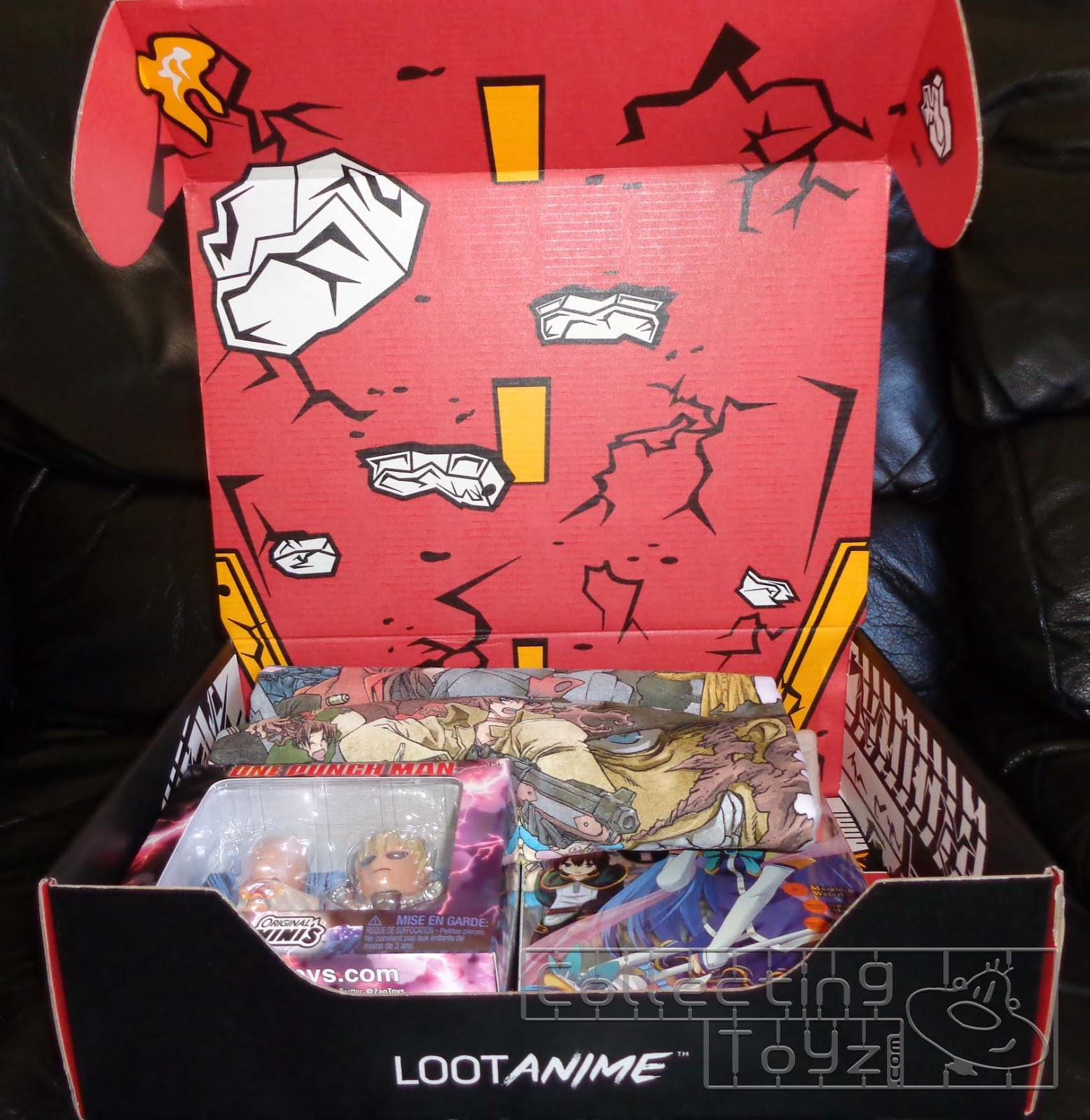 Loot Animes Theme For July 2017 Is Action Comedy This Months Box Featured Items From Trigun Badlands Rumble One Punch Man And More