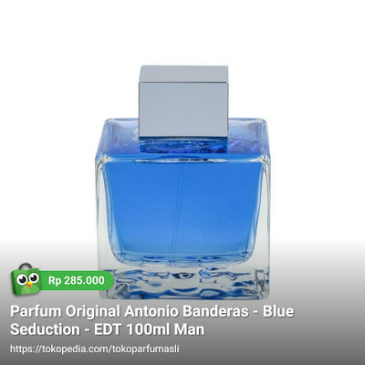 toko parfum asli parfum original antonio banderas blue seduction edt 100ml man