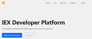 IEX Free API - Personal Portfolio