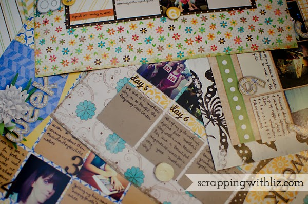 scrapping with liz printing digital scrapbook pages