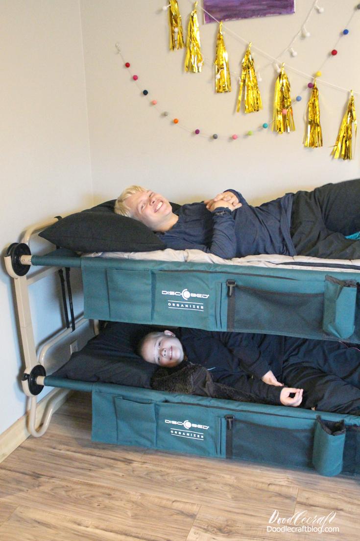 Doodlecraft Disc O Bed Camping Cot Bunk Beds