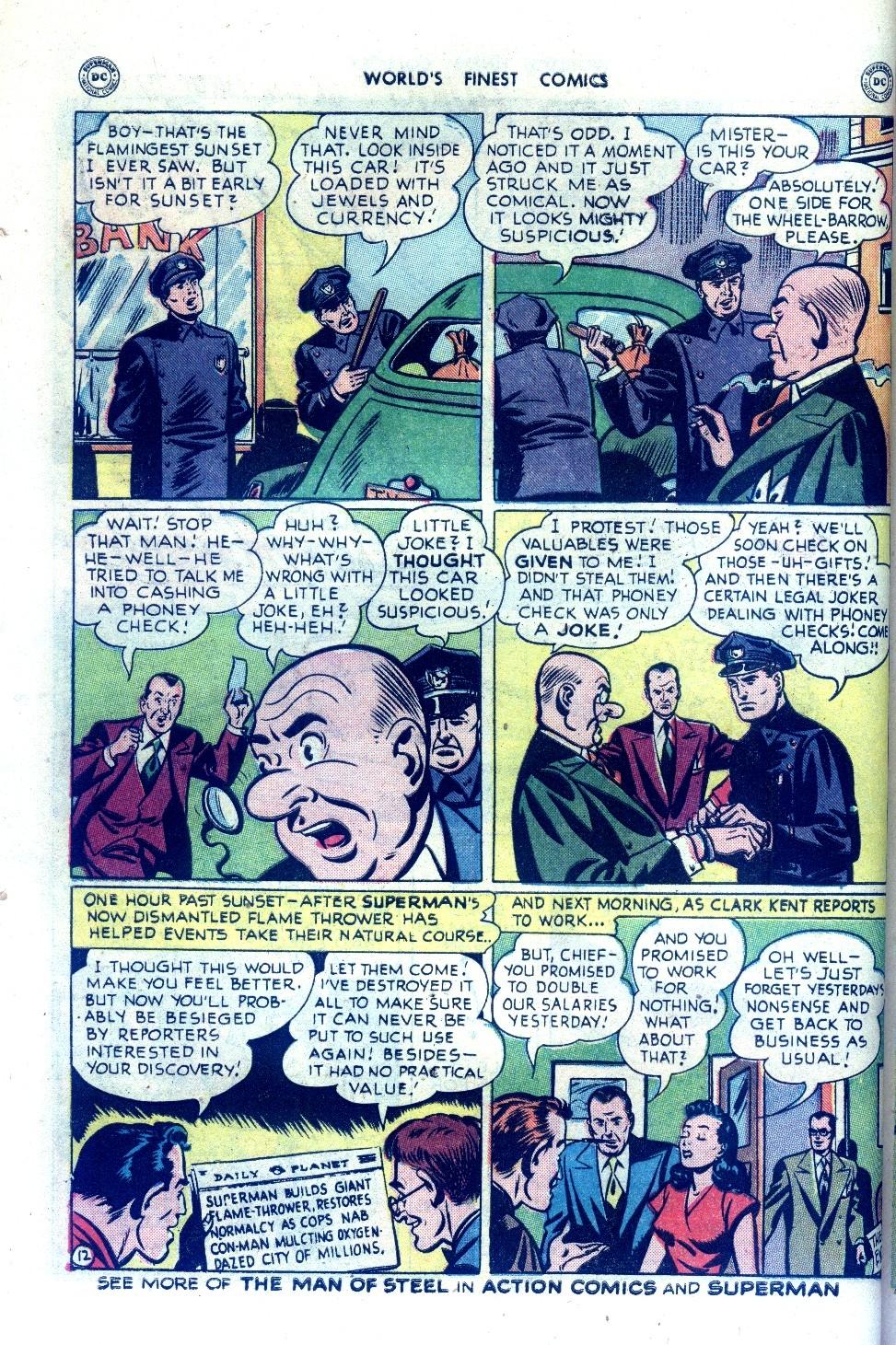 Read online World's Finest Comics comic -  Issue #43 - 14