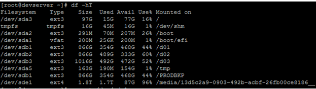 Linux Mount and Umount file system in linux