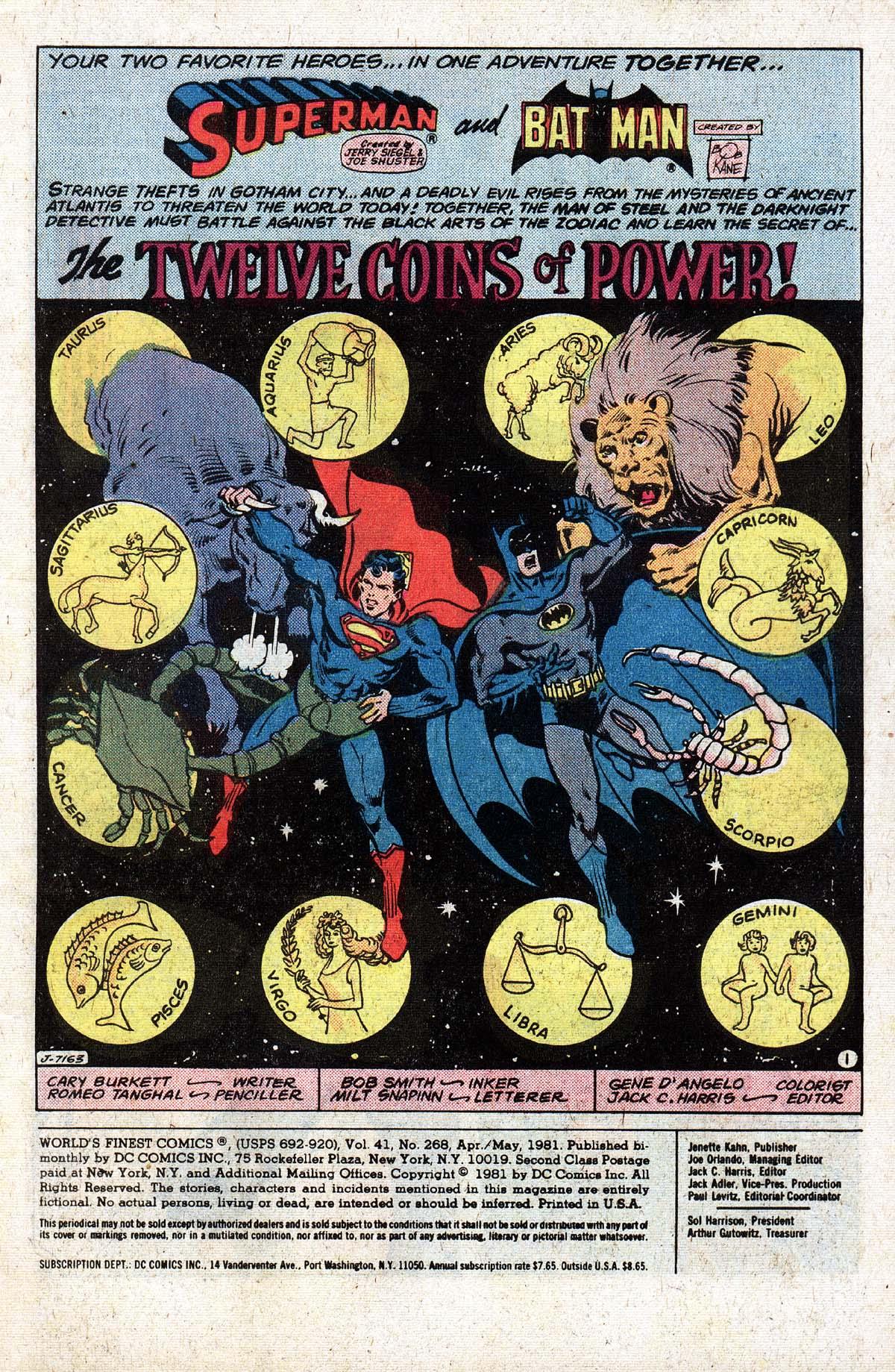 Read online World's Finest Comics comic -  Issue #268 - 3