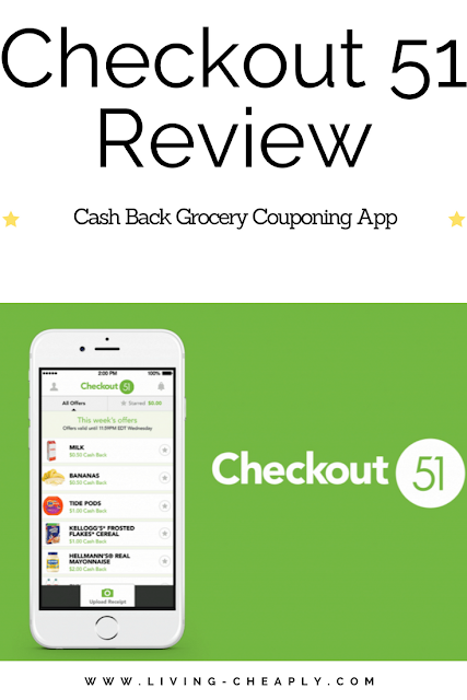 Checkout 51 Review-Cash Back Grocery Couponing App