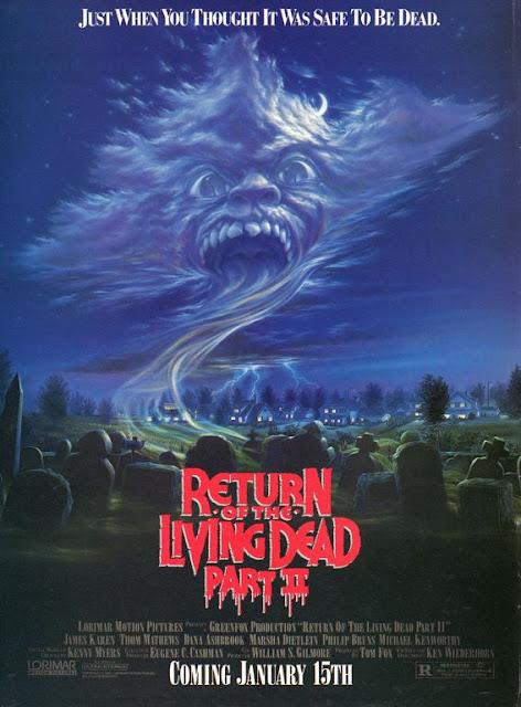 Return of the living dead Part II (1988) ผีลืมหลุม ภาค 2