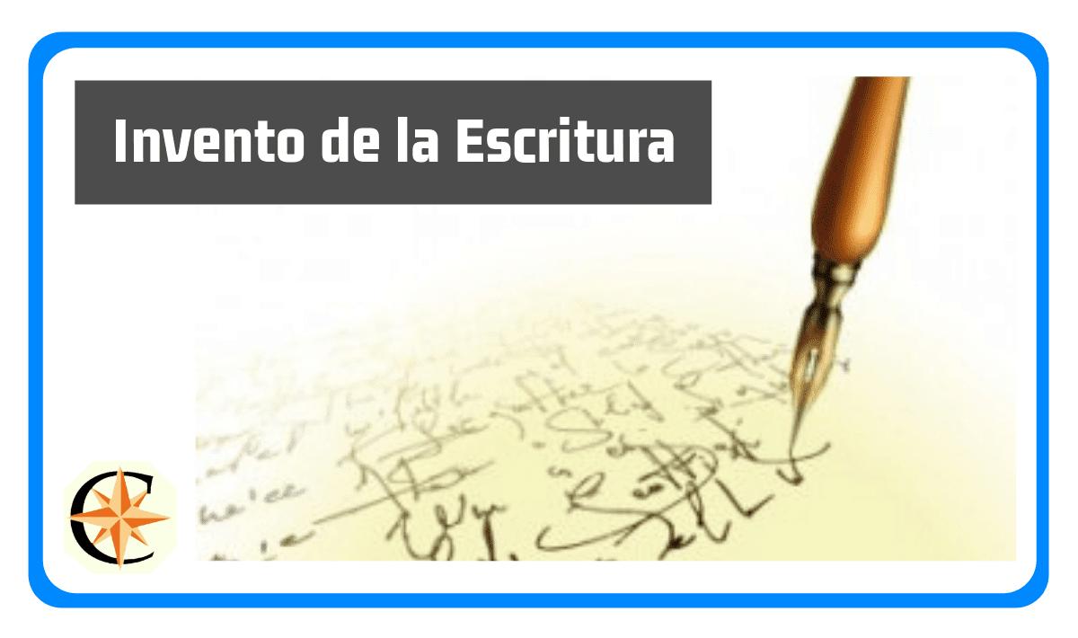 Invento de la escritura