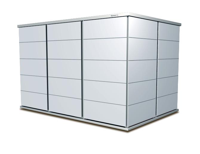 garten q moderne gartenh user gartenschr nke m llboxen und unterst nde garten q. Black Bedroom Furniture Sets. Home Design Ideas