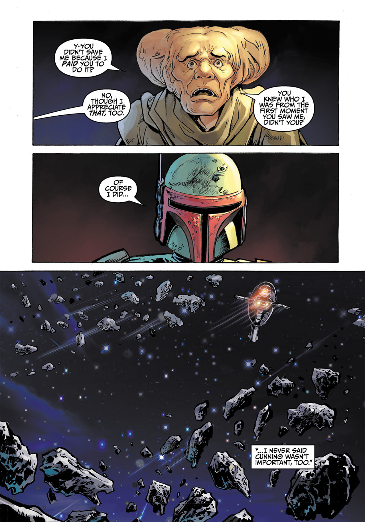 Read online Star Wars Adventures comic -  Issue # Issue Boba Fett and the Ship of Fear - 76
