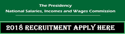 2018/2019 NSIWC Portal - National Salaries, Incomes and Wages Commission Recruitment Page