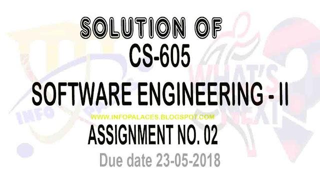 CS 605 Assignment 2 Solution