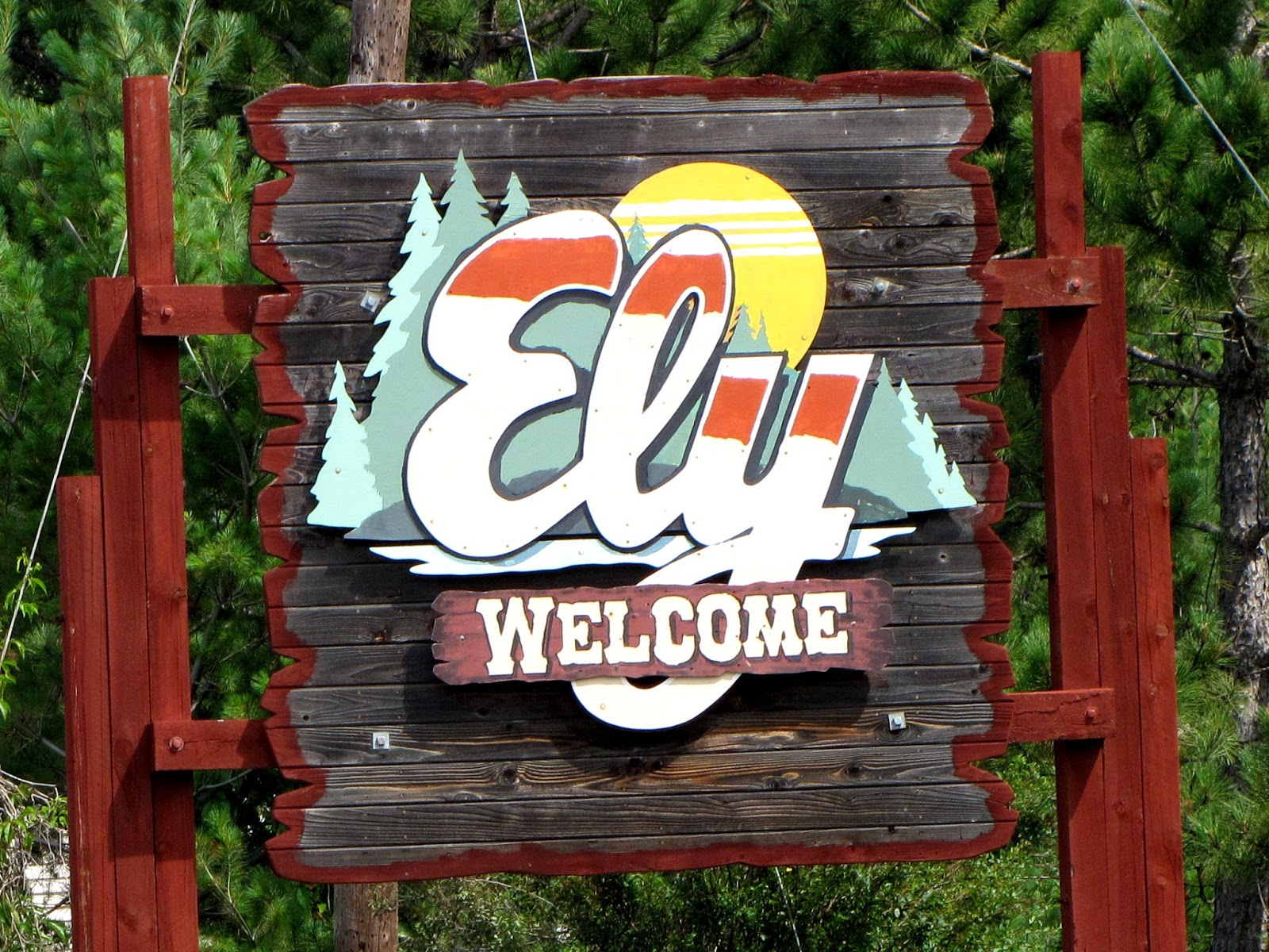 city of Ely sign