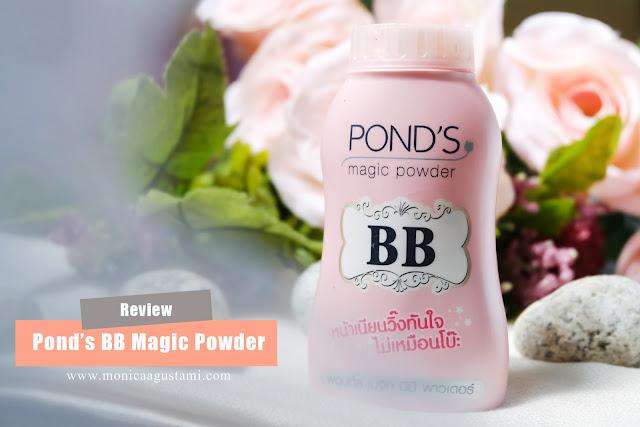 review Pond's BB Magic Powder