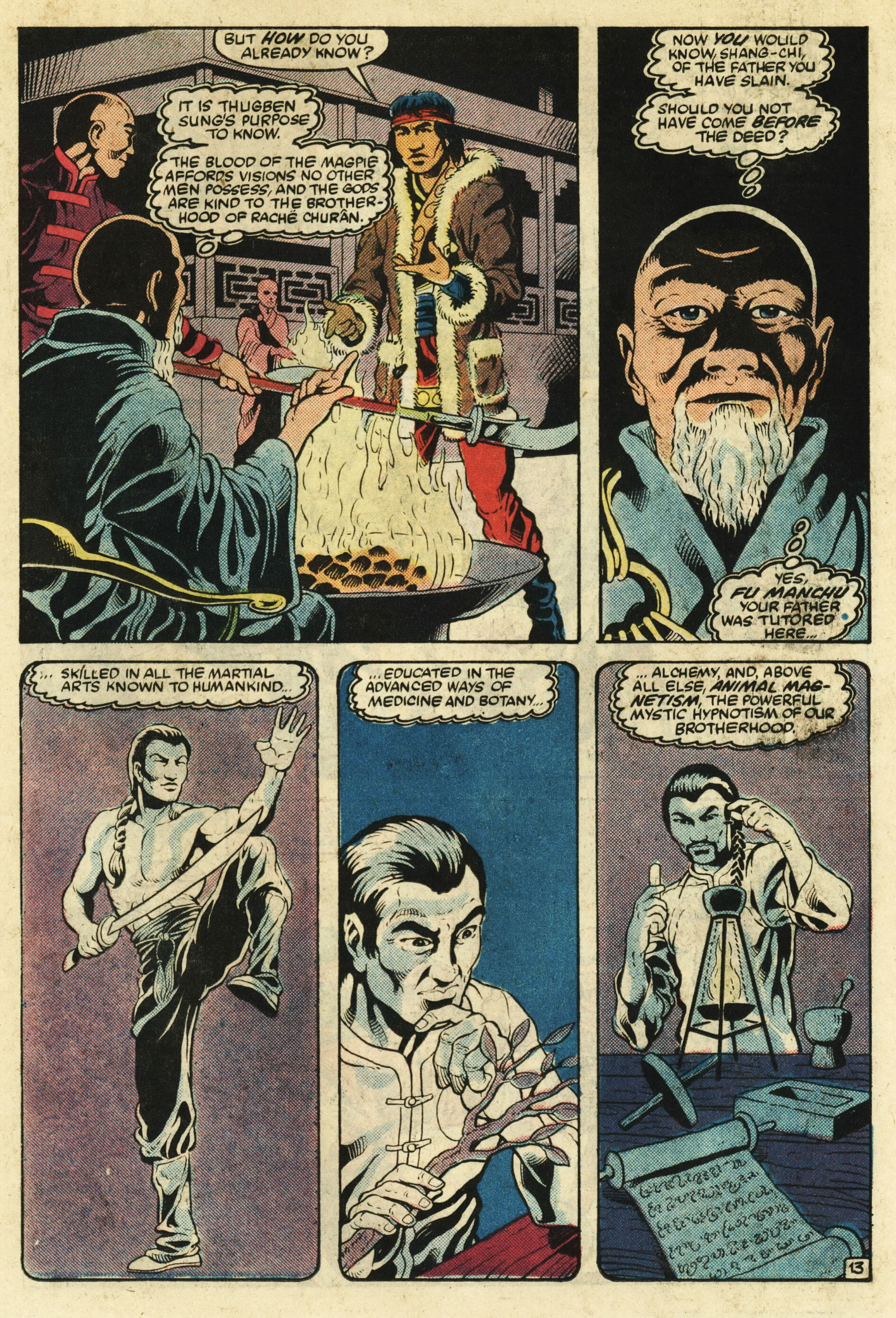 Read online Master of Kung Fu (1974) comic -  Issue #124 - 14