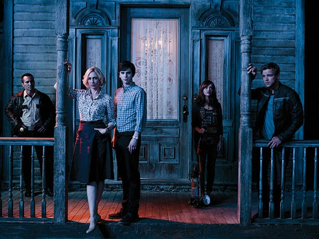 Bates Motel second Season Two 2 cast