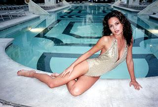 Josie Maran In Swim Suit