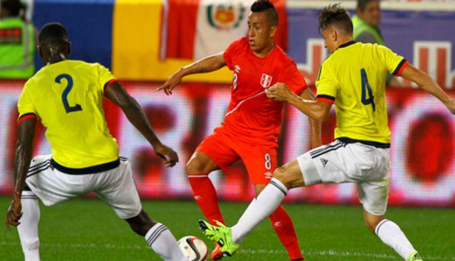 Perú vs Colombia EN VIVO por las Clasificatorias
