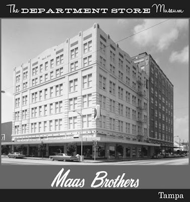 The department store museum maas brothers tampa florida for Michaels craft store tampa