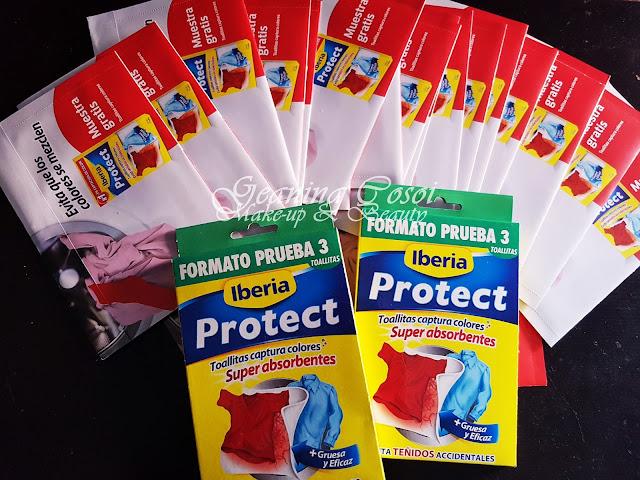 Toallitas captura colores Iberia Protect - Proyecto Youzz