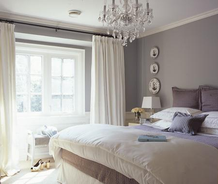 I am not sure who to credit for this soothing bedroom photo, but it makes  me want to climb right in. I feel this bedroom has a nice balance of  masculine and ...