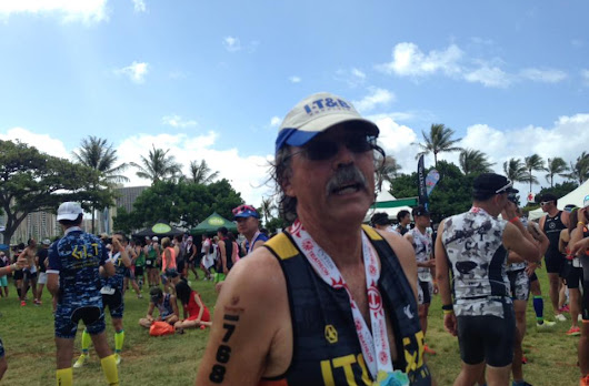 Honolulu Tri race report and weekly schedule
